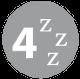 Sleeps 4