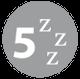 Sleeps 5