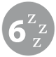Sleeps 6